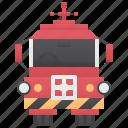 emergency, engine, fire, firefighter, truck