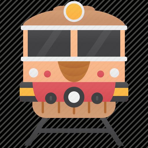 Commuter, railway, tourism, train, transportation icon - Download on Iconfinder