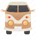 cargo, courier, delivery, travel, van icon
