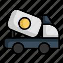 car, cement, transport, transportation, vehicle
