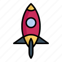 astronomy, planet, rocket, space, spaceship