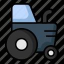 agriculture, farming, garden, tractor