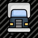 delivery, package, transport, transportation, truck