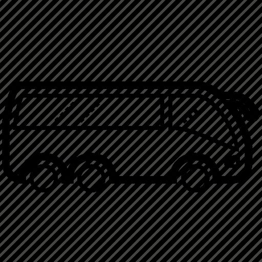 bus, school bus, transport, transportation, travel, vehicle, wagon icon