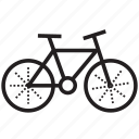bicycle, bike, biking, cycle, fat bike, fatbike, transportation icon