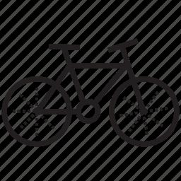 bicycle, bike, biking, cycle, fat bike, fatbike, transportation icon