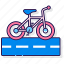 bicycle, bike, biker, road