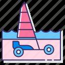 land, transport, yacht