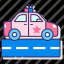 car, police, vehicle