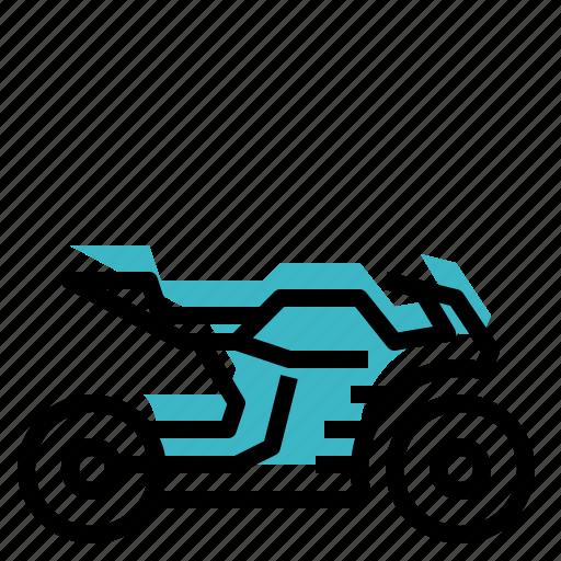 bike, motorbike, motorcycle, transport, transportation icon