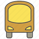 bus, portage, traffic, transit, transport icon