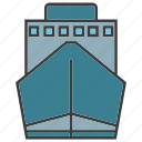 boat, portage, traffic, transit, transport icon