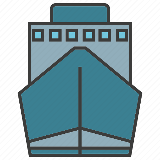 boat, portage, traffic, transit, transport icon