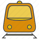 portage, traffic, train, transit, transport icon