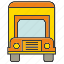 portage, traffic, transit, transport, truck, vehicle icon