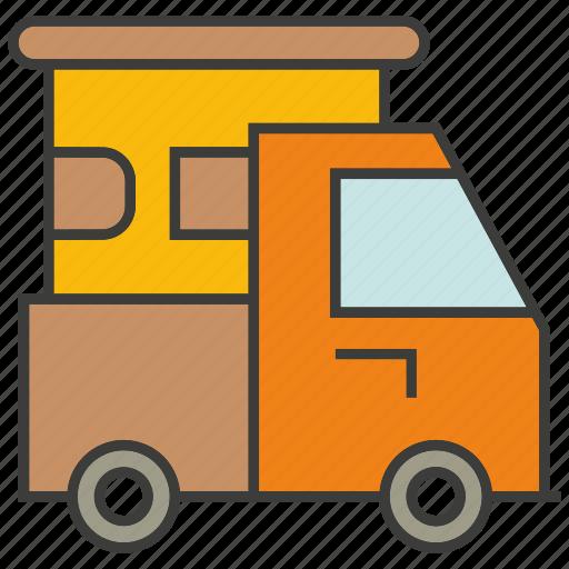 car, portage, traffic, transit, transport, truck icon