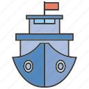 boat, marine, ship, vessel icon