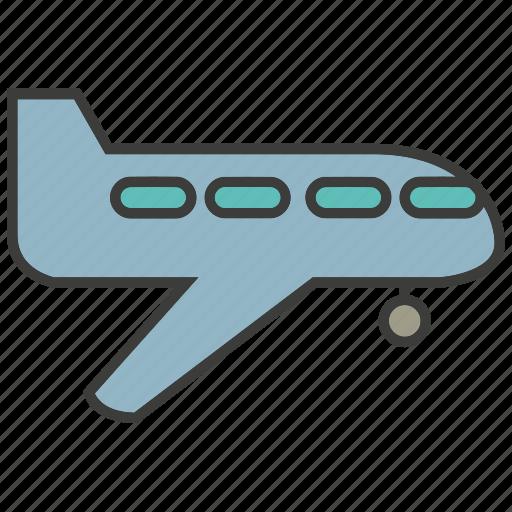 aerial, plane, transit, transport icon