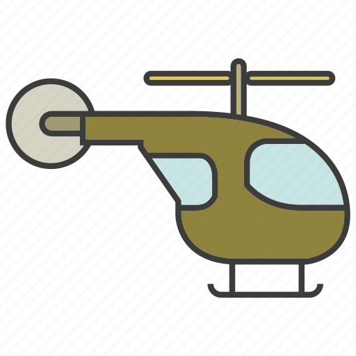 aerial, helicopter icon