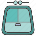 carry, convey, portage, traffic, tram, transit, transport icon