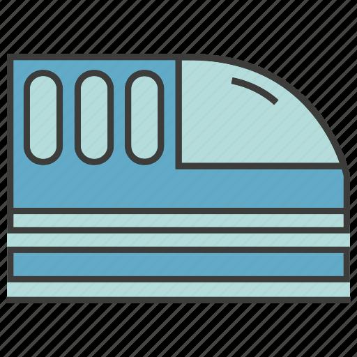 portage, speed train, traffic, train, transit, transport icon