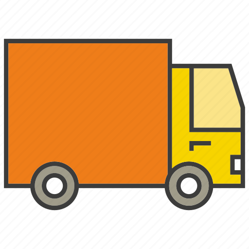 portage, traffic, transit, transport, truck, vehicle icon