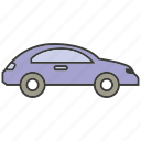 car, portage, sedan, traffic, transit, transport icon