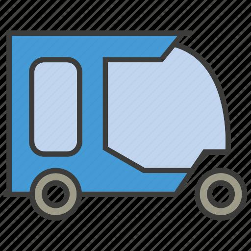 car, portage, small, traffic, transit, transport, tuktuk icon