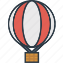 air, balloon, box, delivery, transport, transportation, vehicle icon