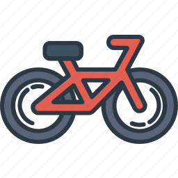 bicycle, bike, transport, transportation, travel, travelling icon