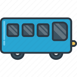 bus, transport, transportation, travel, vehicle icon