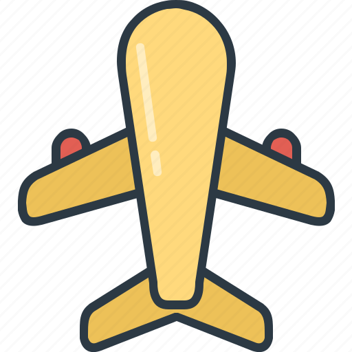 Plane, transportation, airplane, flight, transport, travel, travelling icon - Download on Iconfinder
