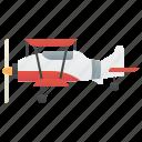 aircraft, biplane, propeller, transport, vintage