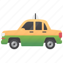cab, driver, service, taxi, travel icon