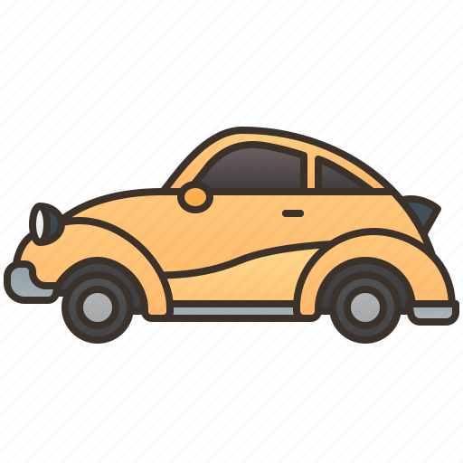 Beetle, car, classic, vehicle, vintage icon - Download on Iconfinder