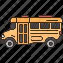 bus, public, transport, travel, vehicle icon