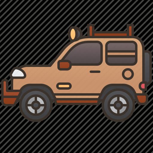 Adventure, jeep, travel, vehicle, wrangler icon - Download on Iconfinder