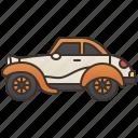 car, classic, old, sedan, vintage