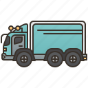 cargo, logistics, lorry, trailer, truck icon