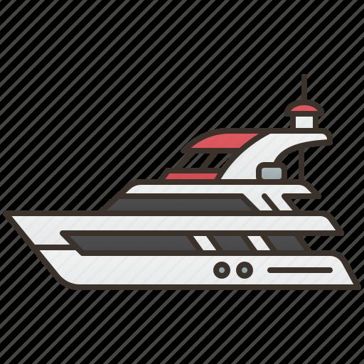 boat, cruise, ship, travel, yacht icon
