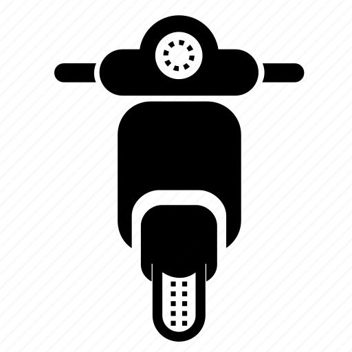 bike, moped, ride, scooter, transportation, vehicle, vespa icon
