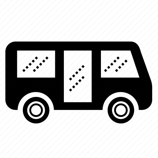 bus, mini bus, transport, transportation, van, vehicle, wagon icon
