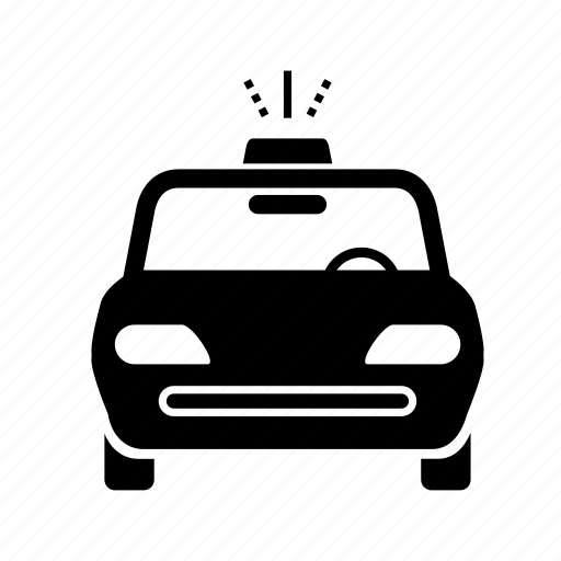 cab, car, driver, hackney carriage, service, taxi, transportation icon