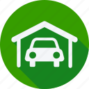 car, garage, repair, service, transport, transportation, vehicle icon