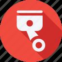 car, pistons, repair, service, transport, transportation, vehicle icon