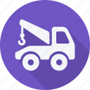 car, lift, repair, service, transport, transportation, vehicle icon