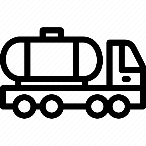 car, maintainance, servicing, tank truck, transport, transportation, vehicle icon