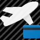 booking, flight, plane, transport, transportation, vehicles icon