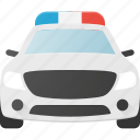 car, cop, police, transport, transportation, vehicles icon