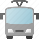 bus, transport, transportation, trolley, trolleybus, vehicles icon